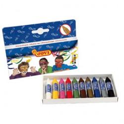 Boîte de 10 crayons assortis