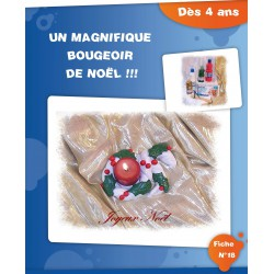Bougeoir de Noël