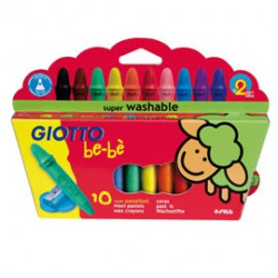 Crayons cire les 10+taille crayons