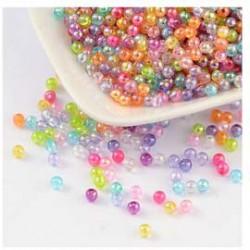 Perle Nacrées multicolor 5mm