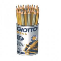 Pot  de Crayons Or et Argent