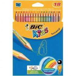 Tropicolor crayons de couleurs Bic