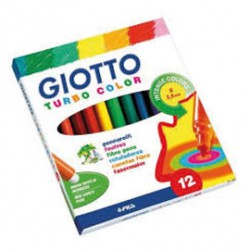 Etui de 12 feutres Giotto