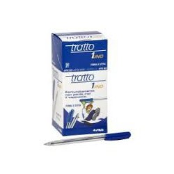 Boite de 50 stylo Tratto bleu