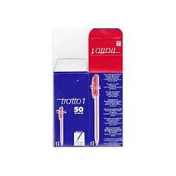 Boite de 50 stylo Tratto rouge
