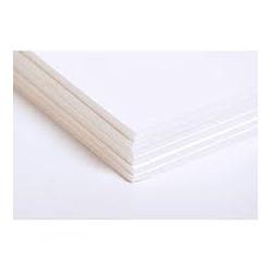 Carton Mousse blanc les 6 plaques