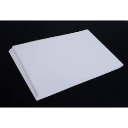 Cartoline 25 feuilles blanches 130g