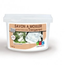 Bloc Savon Transparent  500g.