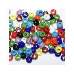Perles de rocaille Multicouleur en 5mm
