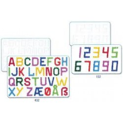 Plaque Chiffres et Lettres