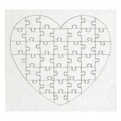 Puzzle à Dessiner Coeur 40 pièces