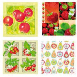 Les Fruits - paquet de 20-