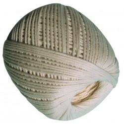 Pelote coton tréssé blanc