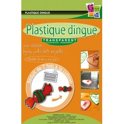 Plastique Dingue Transparent