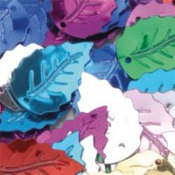 Sequins feuilles 15gr