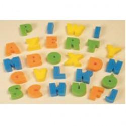 Eponges Alphabet les 26