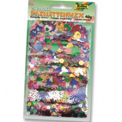 Assortiment de paillettes 40gr